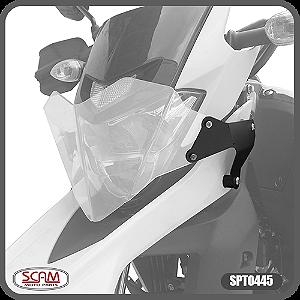 Protetor de Farol Policarbonato Yamaha Lander250 2019 + Scam Spto445
