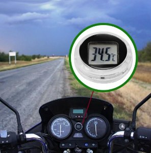 Termômetro Adesivo a Prova D´água para Motos