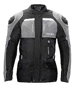 Jaqueta Texx Motociclista Armor Parka Big Trail Impermeável