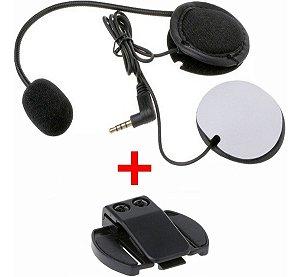 Fone Original Do Intercomunicador V6 Ou V4+ clipe