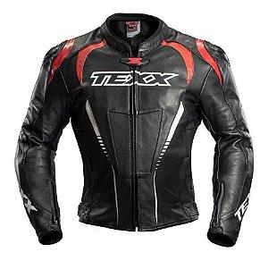 Jaqueta Texx Sniper Couro Moto Lançamento Masculina