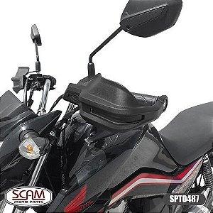 Protetor De Mao Honda Cg125/150/160/titan 2009+ Spto487 Scam