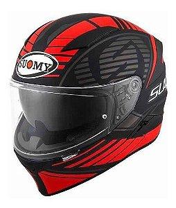 Capacete Moto Suomy Speedstar Sp-1 Matt Red Vermelho