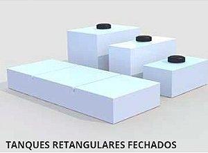 TANQUES RETANGULARES FECHADOS