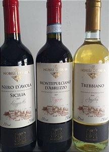 Vinhos Italianos kit 3 unidades R$ 134,00 reais