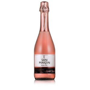 Espumante San Martin Moscatel Rosé R$ 19,90 reais unidade