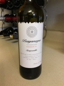 Vinho Bayanegra Tempranillo R$ 84,00 unid.