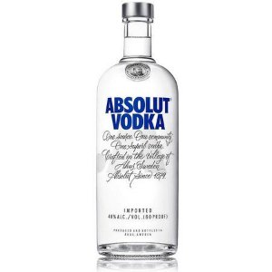 VODKA ABSOLUT ORIGINAL R$ 79,90 reais