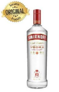 VODKA SMIRNOFF 998 ml  R$ 39,90 reais