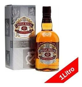 Whisky Chivas regal 1 litro R$ 159,90 reais