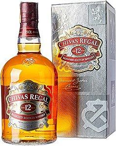 Whisk'y Chivas Regal 12 anos 1lt R$ 179,00 un.