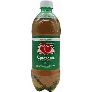 Guaraná Antártica pet 500 ml sem açucar R$ 6,50 un.