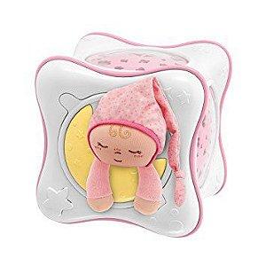 Projetor Chicco Rainbow Cube Rosa