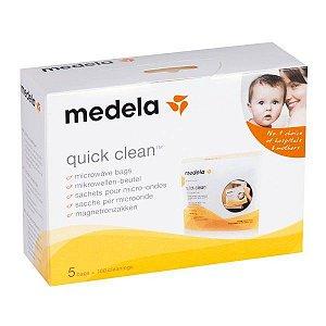 Sacos de esterilização para micro-ondas Quick Clean MEDELA