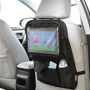 Organizador para Carro com Case para Tablet Store Watch Multikids