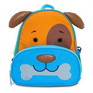 Mochila Infantil Lets Go Cachorro Comtac Kids