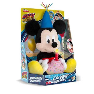 Pelúcia Mickey Happy Birthday