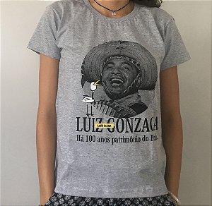 Camiseta Comemorativa -100 Anos de Luiz Gonzaga