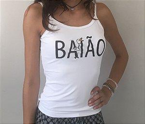 Baby Look Alça - Baião