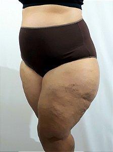 Hotpant marrom liso