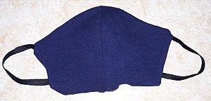 Máscara reutilizável marinho c/listras verdes