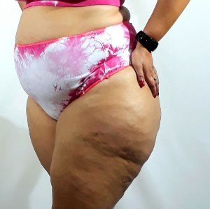 Hotpant tie dye pink