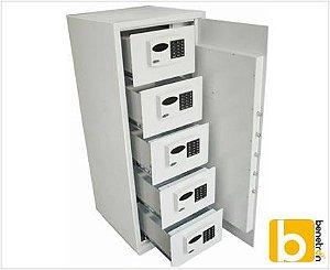 Cofre Eletrônico Big Company com 5 gavetas eletrônicas