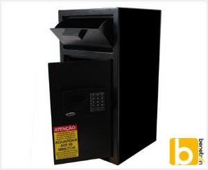 Cofre Eletrônico Smart Store Security 6800 Black