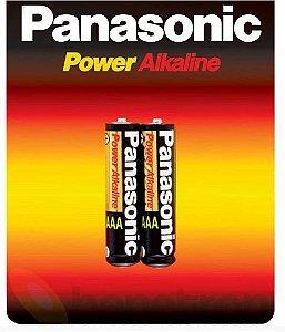 Pilha Alcalina Pequena AA Panasonic