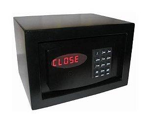Cofre Eletrônico Hotels Box Black