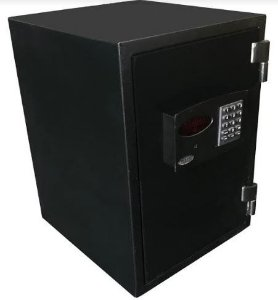 Cofre Eletronico Anti-chamas com Sistema de Retardo