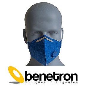 Máscara Respirador Profissional Classe PFF2 Contra Vírus e Bactérias Pacote c/ 10un