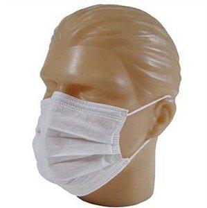 Máscara TNT Descartável com Elástico Cx com 100 unidades