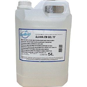 Álcool Gel 70% Galão com 5 Litros Clarilimp