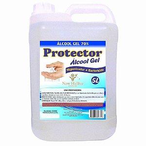 Álcool Gel 70% Galão com 5 Litros Protector