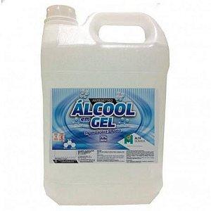 Álcool Gel 70% Galão com 5 Litros Alfa Química