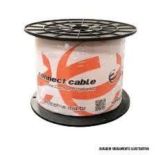 CABO COAXIAL 4MM FLEXIVEL 80% MALHA BOBINA 300M BR - CONNECT