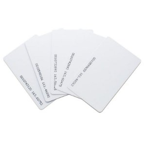 Cartão de acionamento por aproximação - 125kHz clamshell