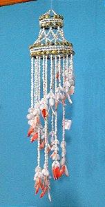 chandelier nassa w/ red lips 180 cm - unid