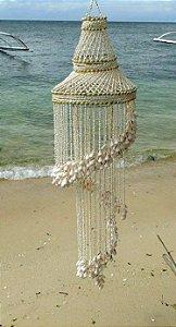 chandelier w/ white sola 220 cm - unid