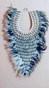 necklace mop nerita/olive gray - unid