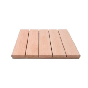 Mini Deck Eucalipto Natural Liso lam10 50x50