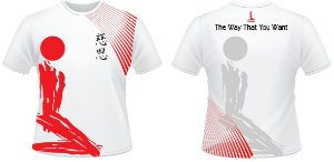 CAMISETA KARATE BRANCA DRY-FIT 008-5