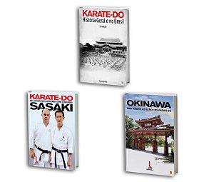 COMBO 1 - 3 livros de Karate-Do mais vendidos de Paulo Bartolo