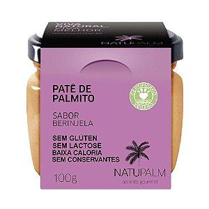Patê de Palmito 100g - Berinjela NATUPALM- 12 unid x 100g