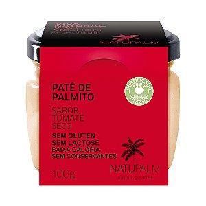 Patê de Palmito saborizado Tomate Seco NATUPALM  12 unid x 100g