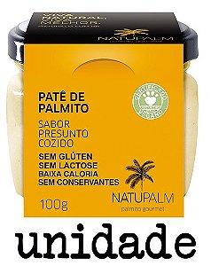 Patê  de Palmito saborizado Presunto NATUPALM 100g