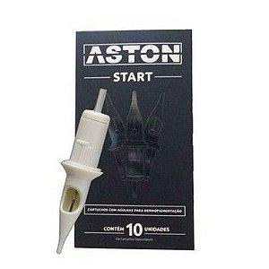Cartucho Aston Start - Magnum Round - Caixa 10 Unidades