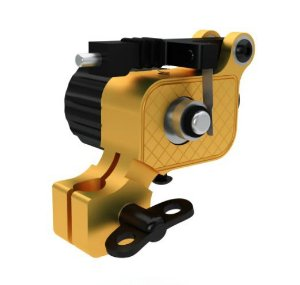 Máquina Iron Works Fly Tech - Dourada