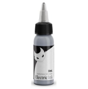 Tinta Electric Ink Cinza Prata 30ml
